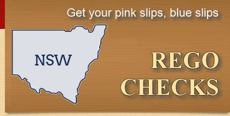 Rego Check - Get your pink slips blue slips